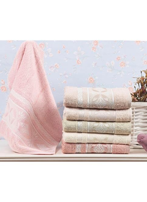 Dekoreko 6'lı Havlu Seti 30x50 Renkli